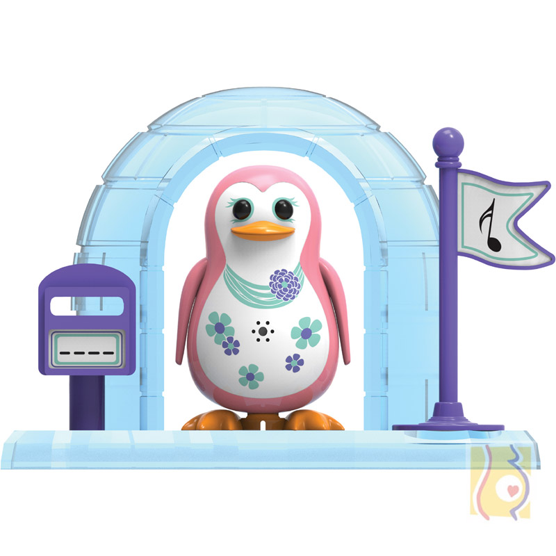 DigiPenguins z igloo Paige jasno różowy S88344/43